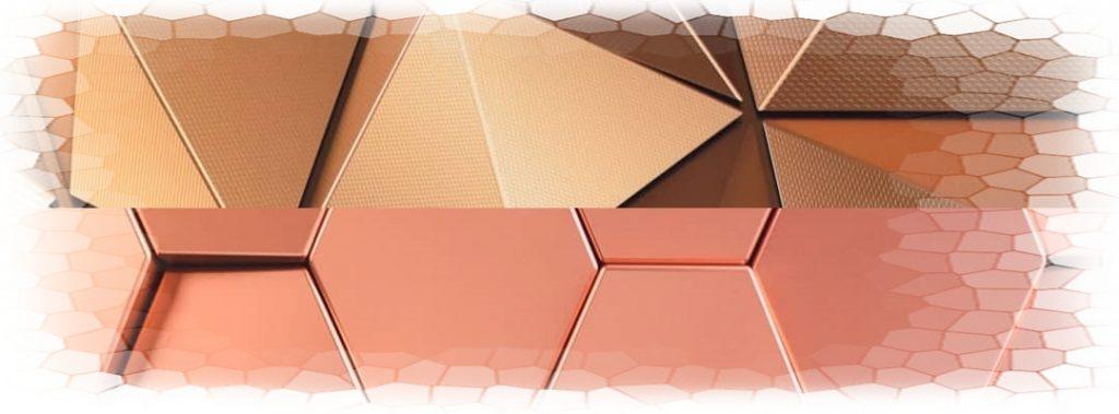 Fotosteny s 3D efektom medená aj zlatá